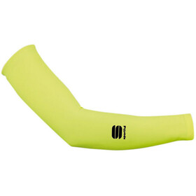 Sportful Lycra Arm Warmers yellow fluo